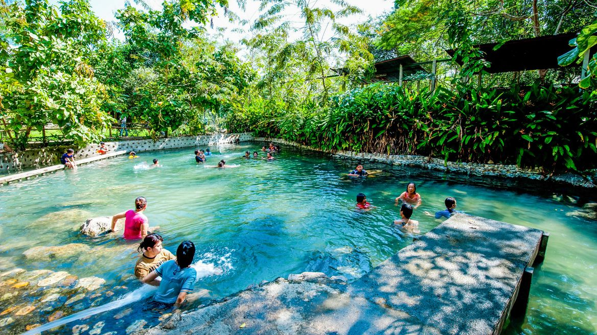Hot Spring in Ratchaburi