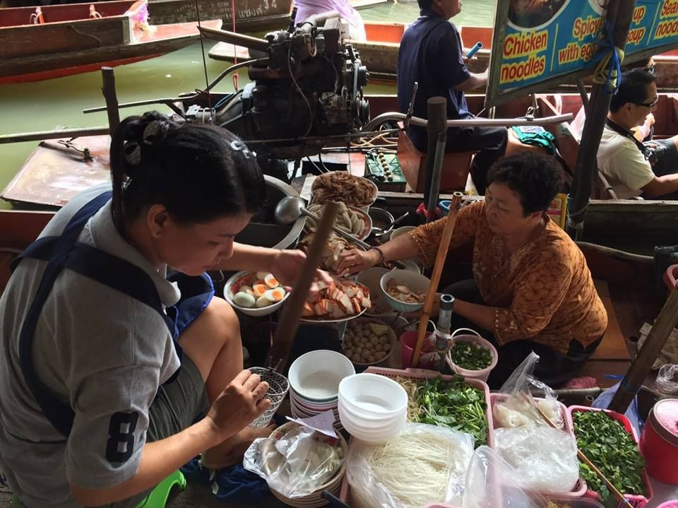 Damnoen Saduak Floating Market Private Tour