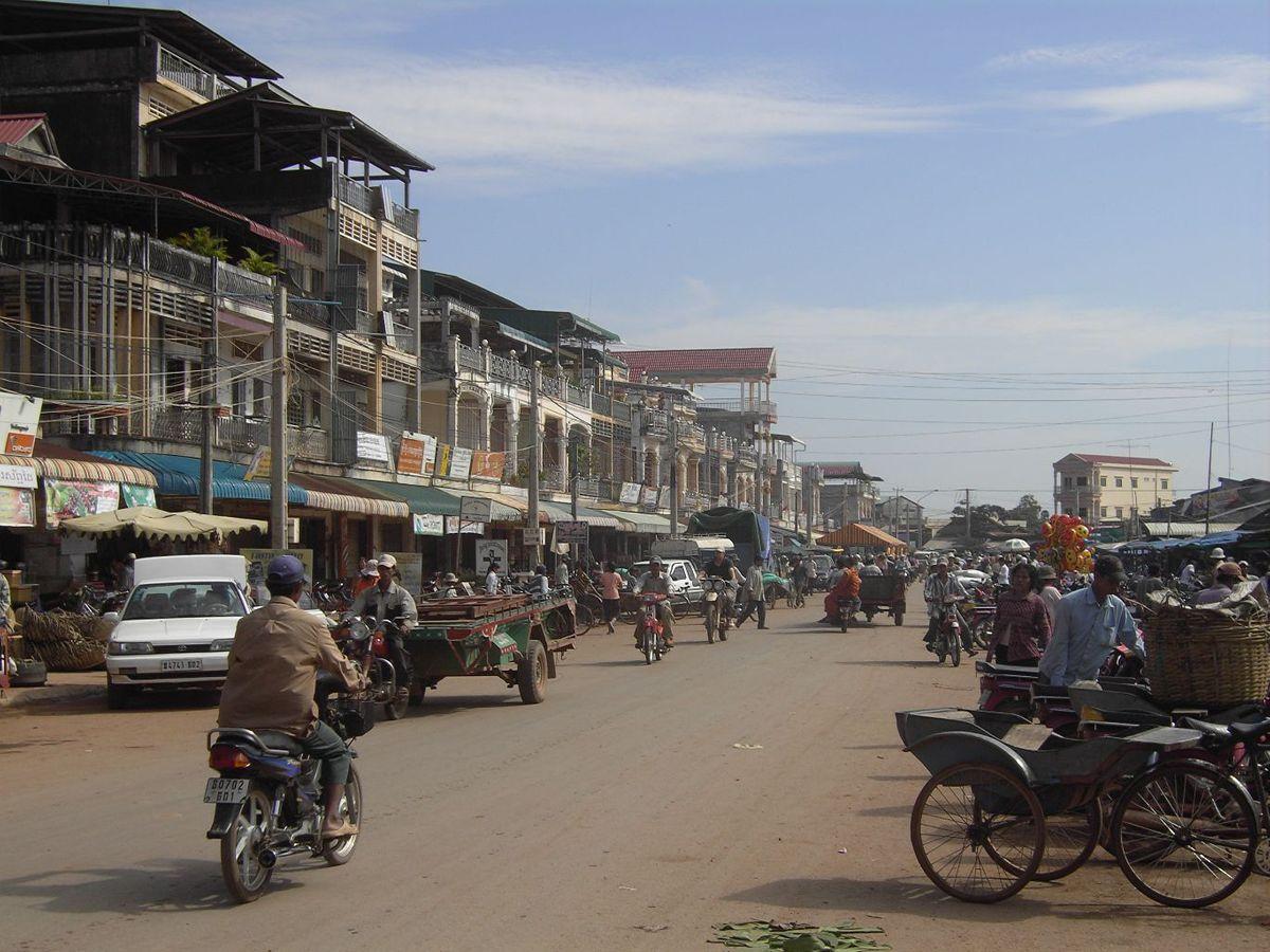 Old Market Kampot Cambodia