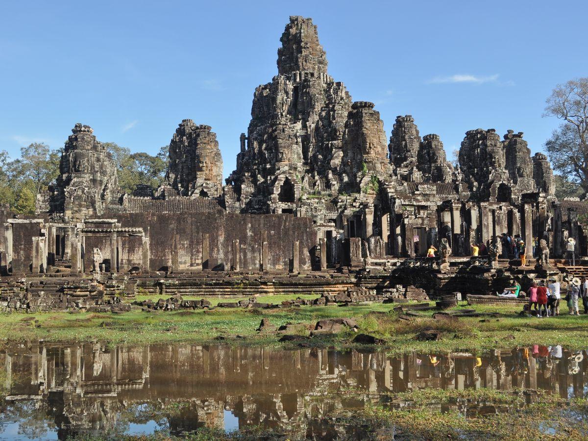 angkor thom siem reap cambodia
