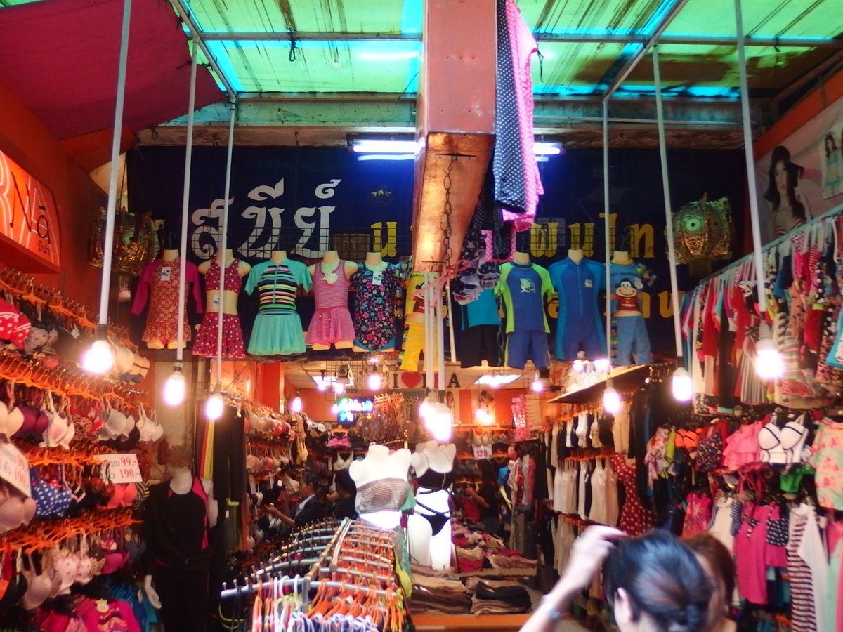 wang lang market bangkok thailand