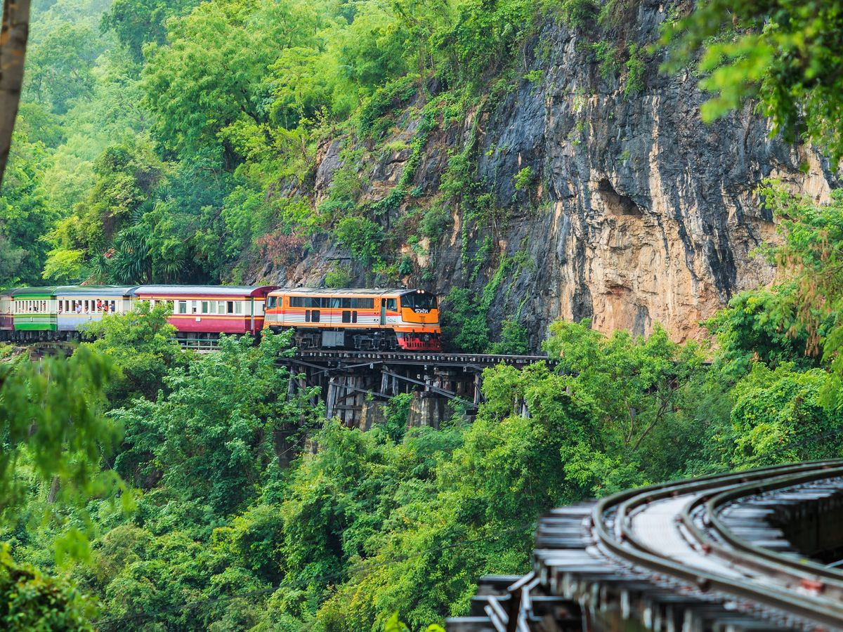 Death Railway, Kanchanaburi, Thailand