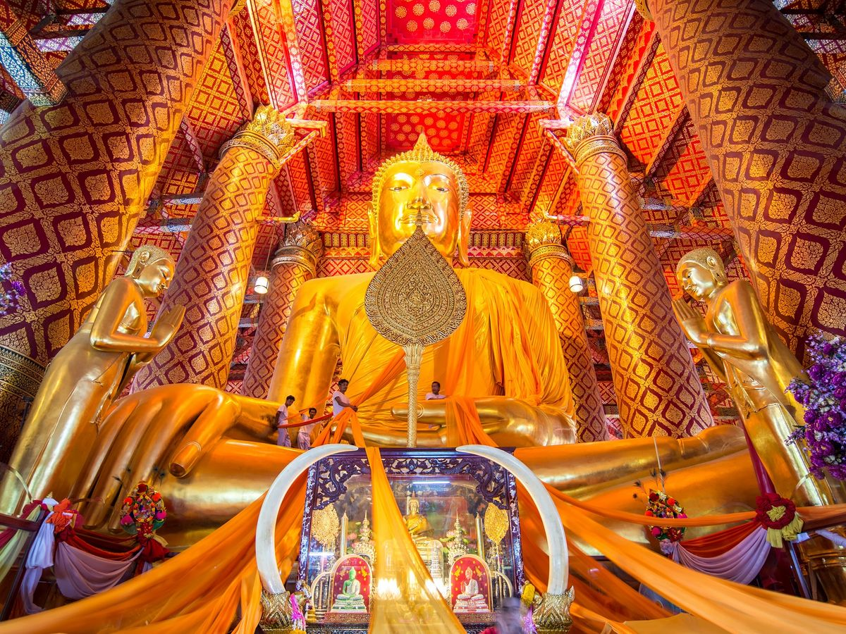 Wat Phanan Choeng, Ayutthaya, Thailand