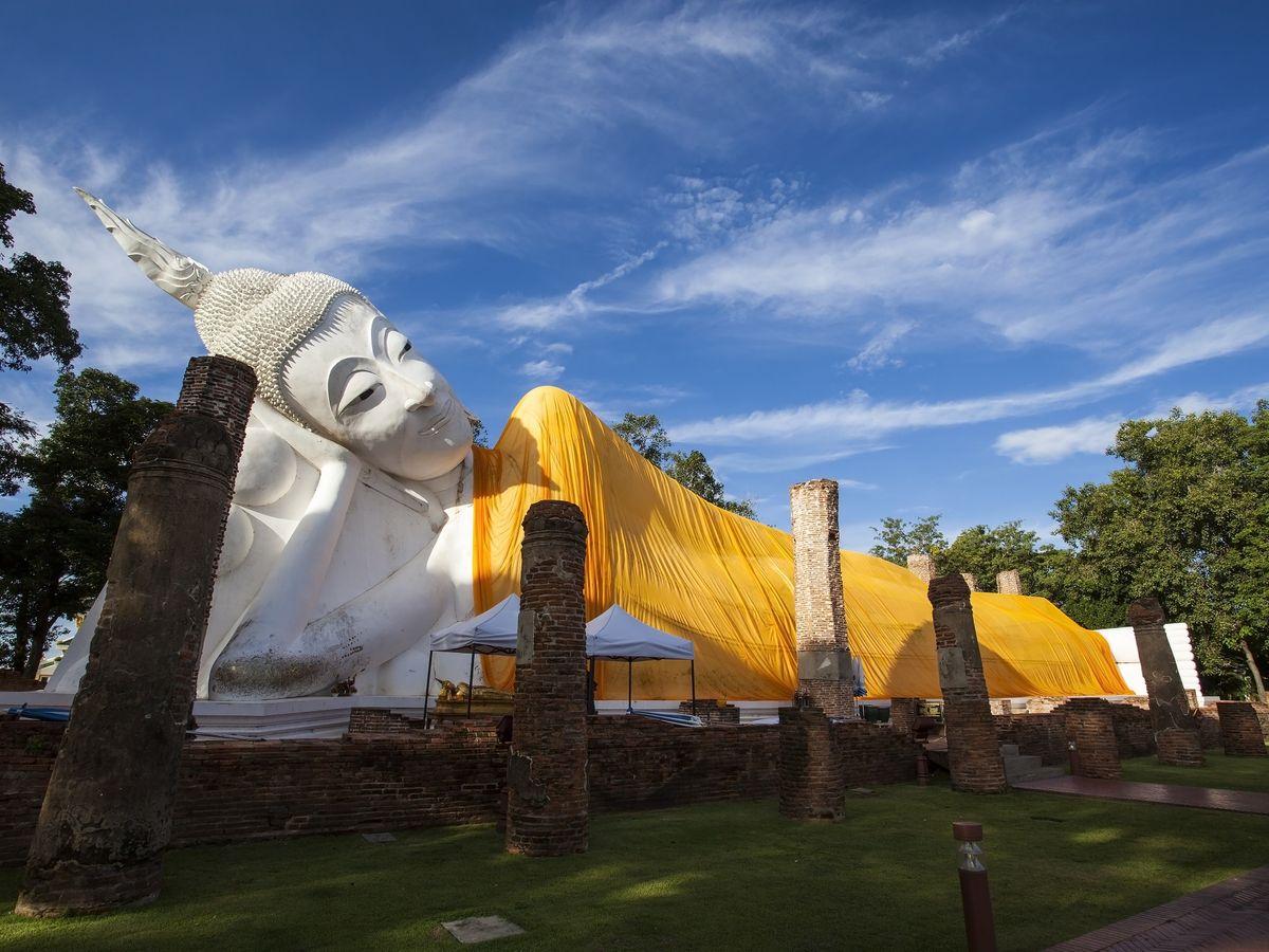 Wat Khun Inthapramun, Ang Thong, Thailand
