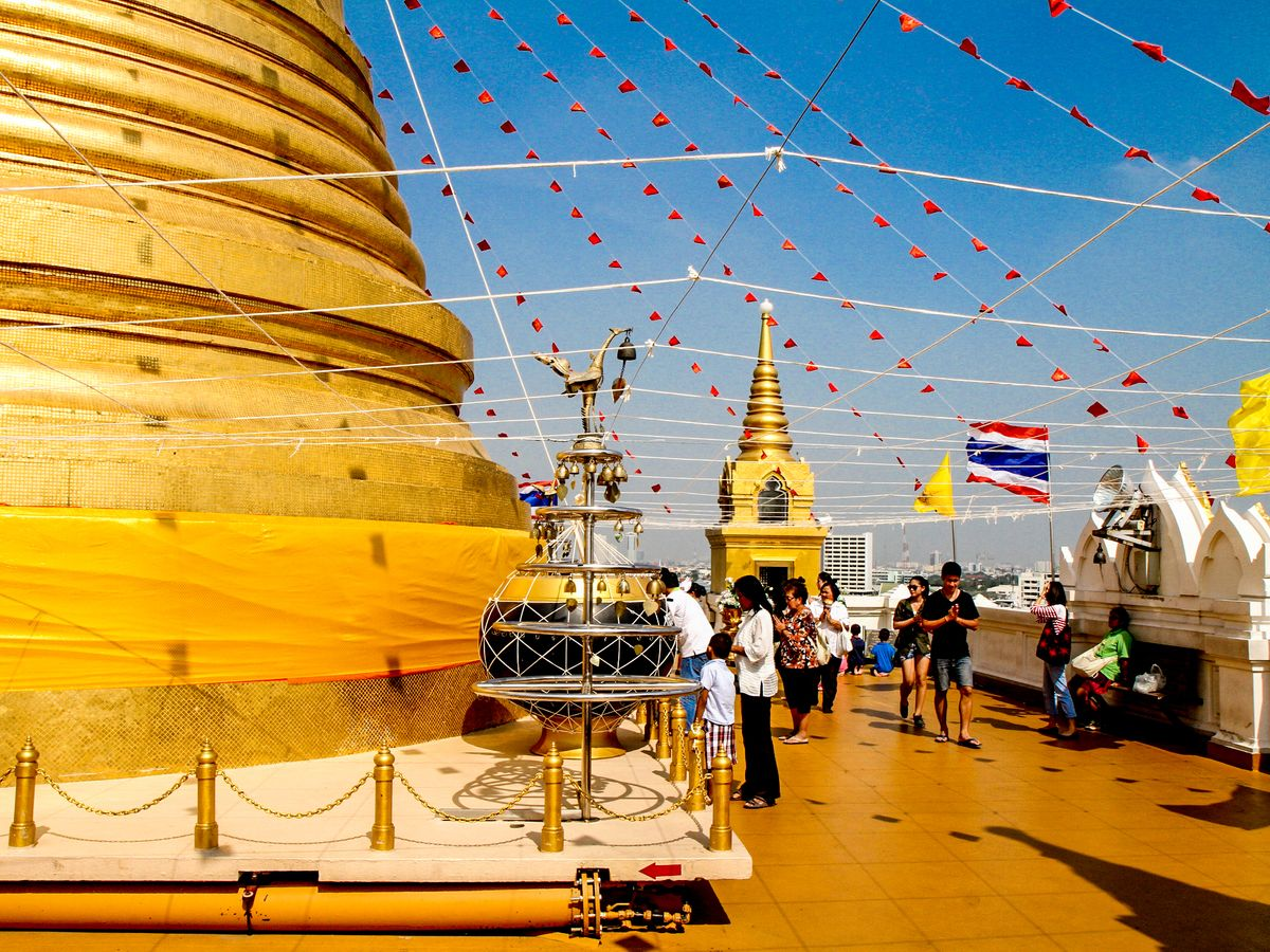 Wat Saket (Golden Mount)