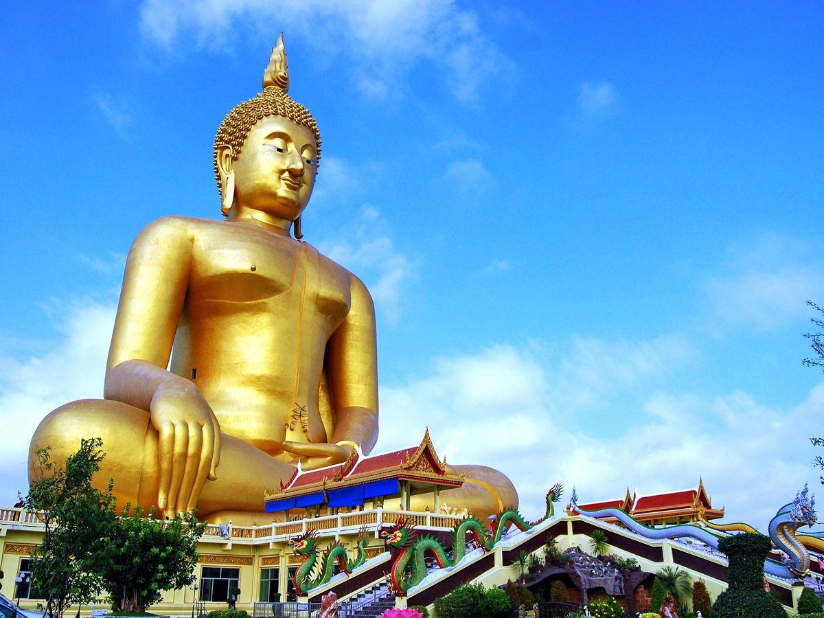 Wat Muang, Ang Thong, Thailand