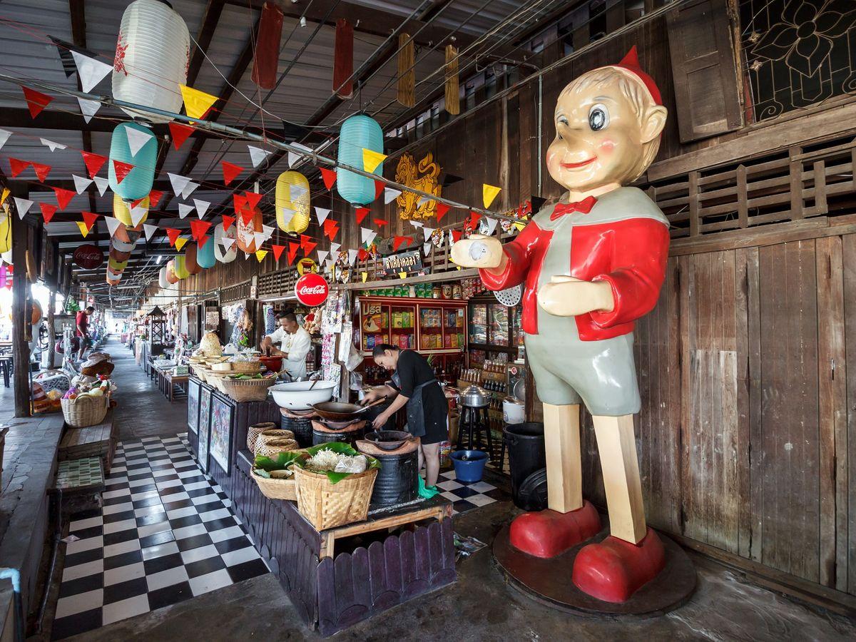 Baan Mai Market, Chachoengsao, Thailand