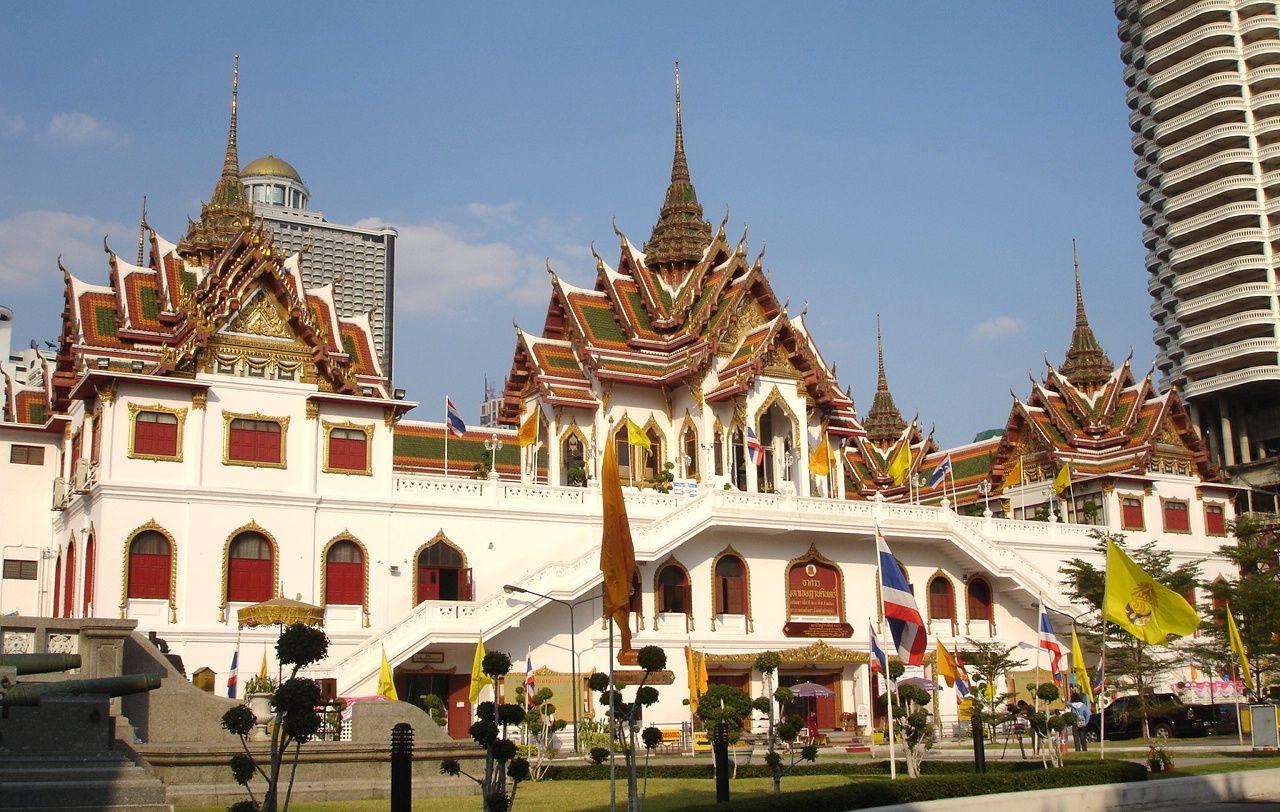 Wat yannawa bangkok thailand
