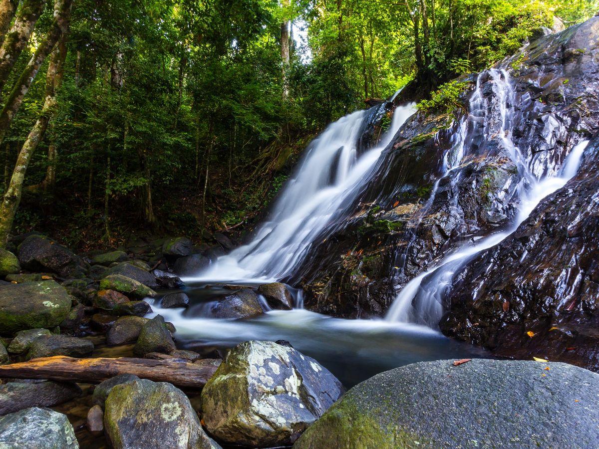 Ton Nga Chang Waterfall, Songkhla, Thailand