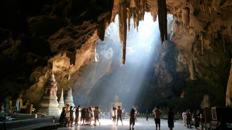 khao yoi cave thailand phetchaburi