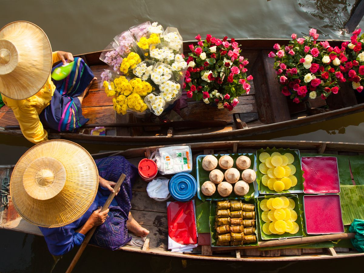 Floating Market Tours from Bangkok