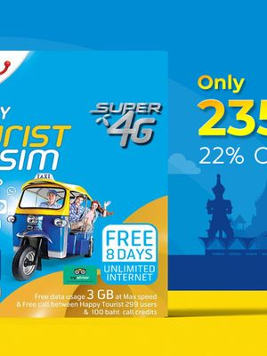 4G Unlimited Data SIM: DMK Airport Pickup (Don Mueang Airport)