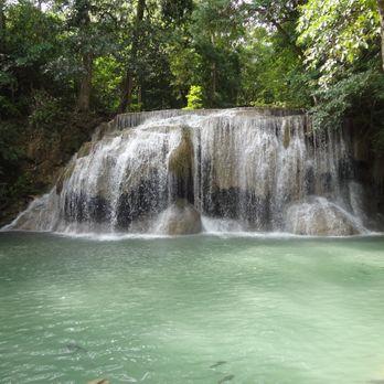 Fish in Erawan waterfall