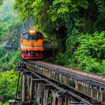 The Death Railway (Thai-Burma Railway)