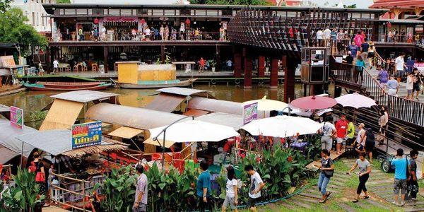 Kwan Riam Floating market