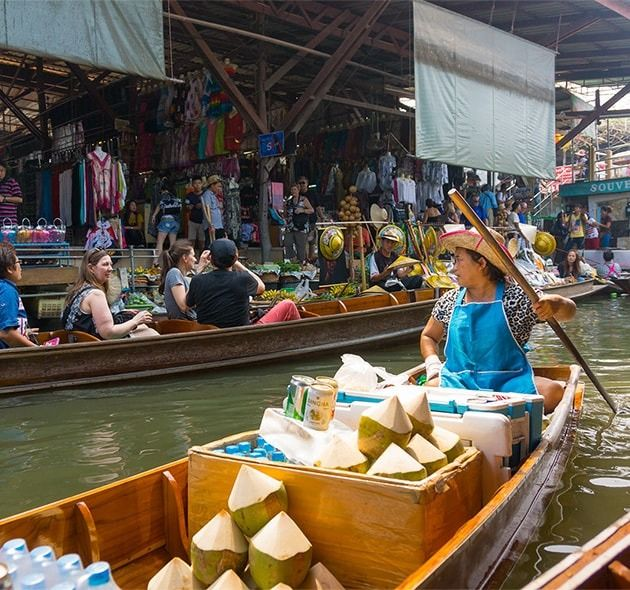 10 Fabulous floating market trips we love