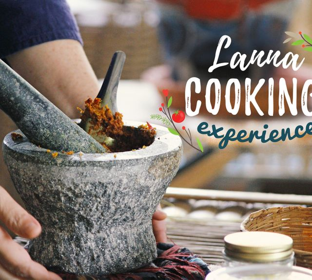 Come Experience a Unique Lanna Cooking Class! (Lunch Time)