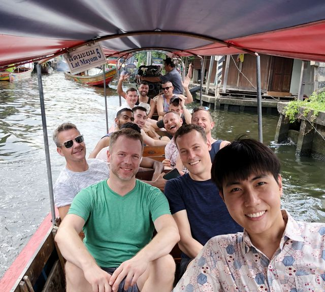 Let's Follow the Real Local to Explore Khlong Lat Mayom Floating Market