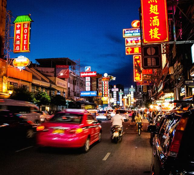 A Night Tour of Bangkok's Chinatown