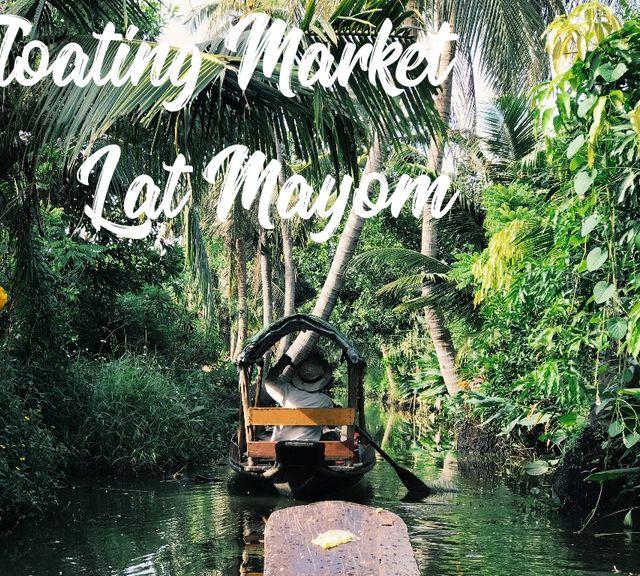 Bangkok Hidden Gems! Khlong Lat Mayom Floating Market & Chang Chui Bangkok Plane Market